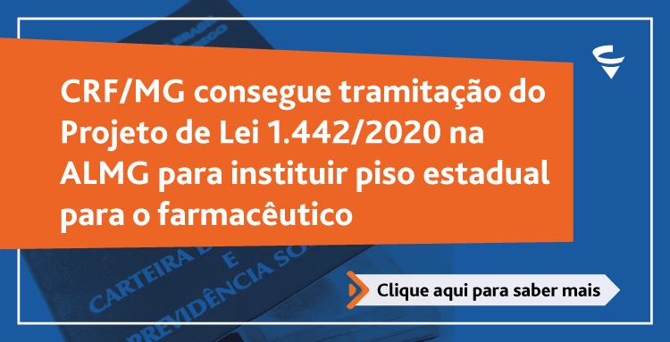 Diretoria do CRF/MG consegue tramitação de projeto de lei na ALMG para garantir piso salarial para os farmacêuticos